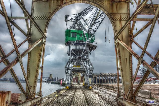 Yard Cranes - HDR