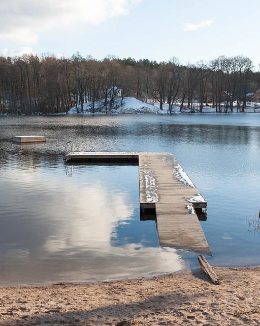 Sicklasjön / Spring postponed