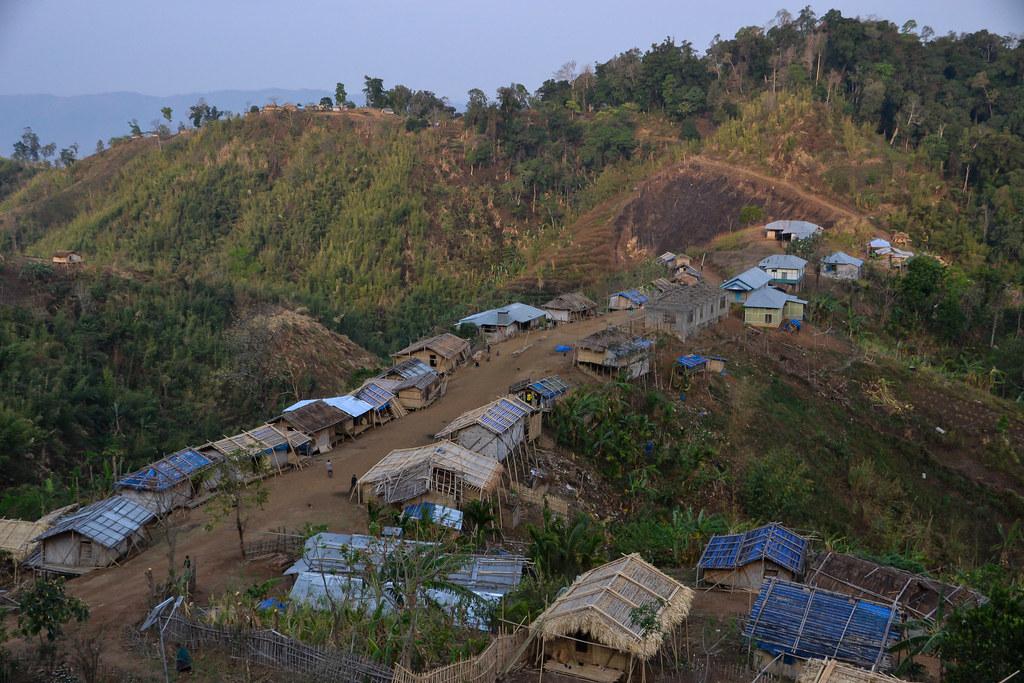 bru village in Mizoram