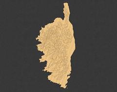 Wood-Cut-Like Corsica