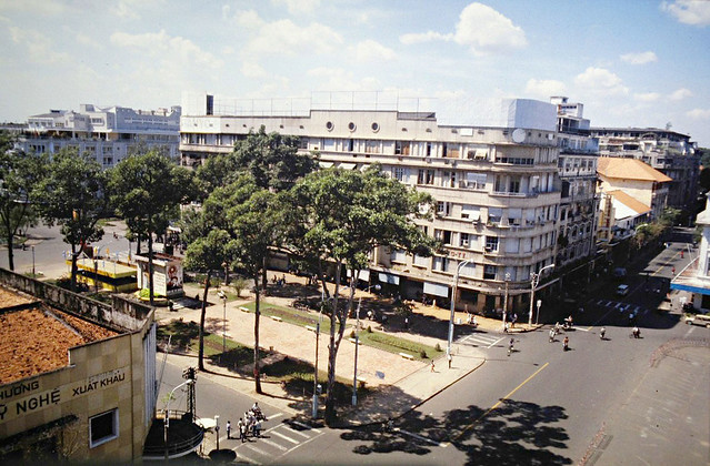 SAIGON 1979 - The EDEN Building, where Vincom B currently stands