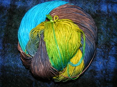 new, high twist merino yarn