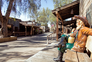 A Quiet Moment In Ghost Town