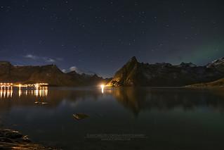 Reine Night Lights