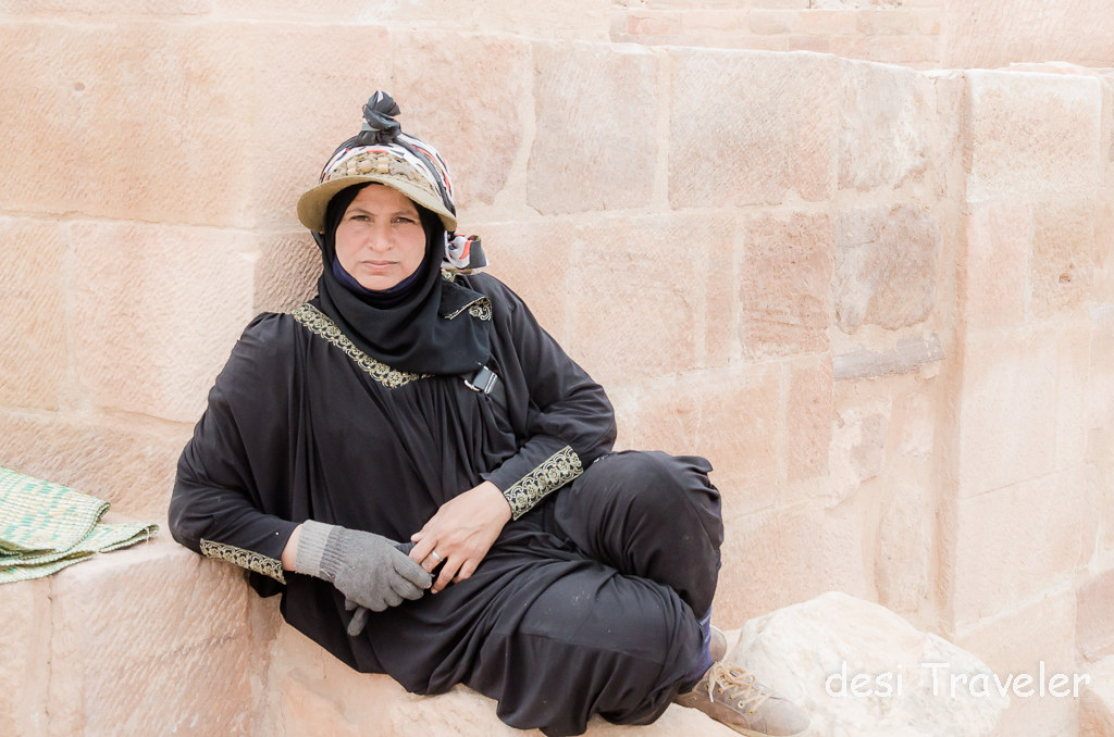 A Bedouin Woman in Petra