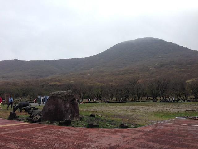 Visitor Center area at Mt. Hallasan National Park