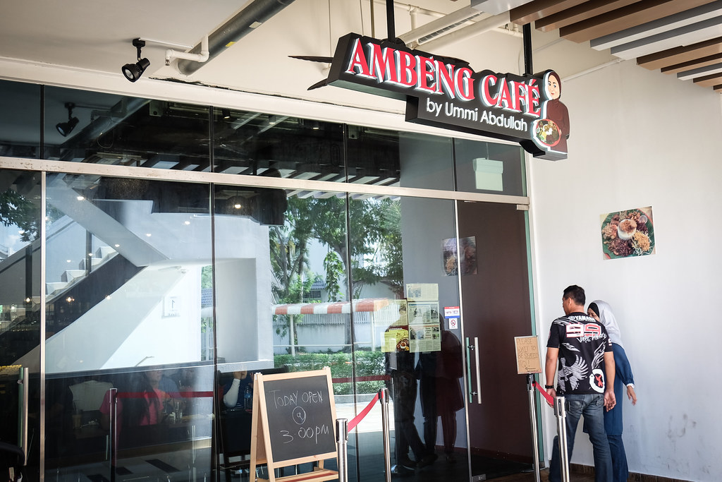 Ambeng Cafe by Ummi Abdullah Front