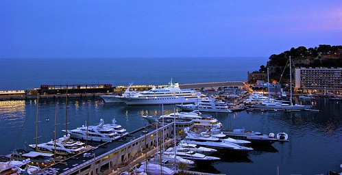 Luxury yachts galore at Monte Carlo port
