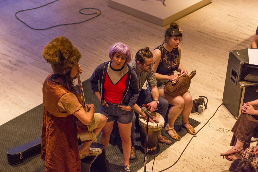 Churls at Sheldon Museum of Art's Spring Performance Series | April 30, 2015