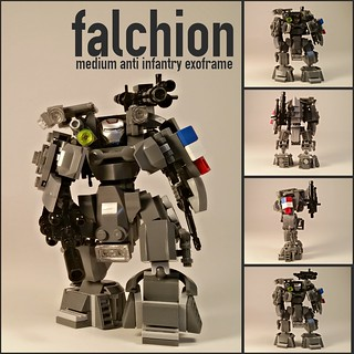 "T.A.H. MK LIII ""Falchion"" Medium Anti Infantry Exoframe"