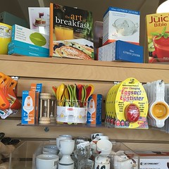#artofbreakfast #cookbooks love that this fabulous kitchen store carries my cookbook!