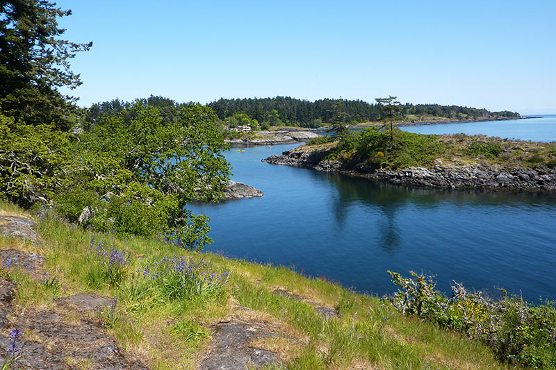 Tower Point at Witty's Lagoon Park, Metchosin, Victoria, Vancouver Island, British Columbia