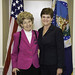Dep. Sec. Krysta Harden with Mary Dell Chilton