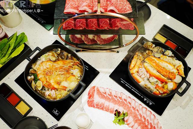 menu,個人鍋,價格,北屯,台中,和牛,壽喜鍋,好吃,料理,涮涮鍋,火鍋,炭烤,菜單,鍋物,鑄鐵,頂級,麻辣 @強生與小吠的Hyper人蔘~