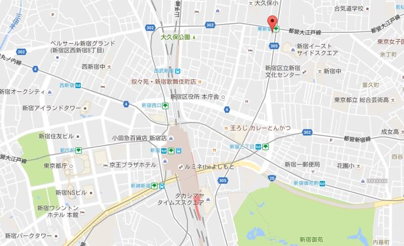e hotel map