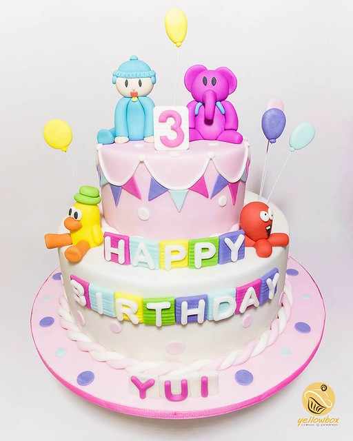 Cute Pocoyo Themed Cake by Marvin Gabriel of Yellowbox - Cakes & Pastries