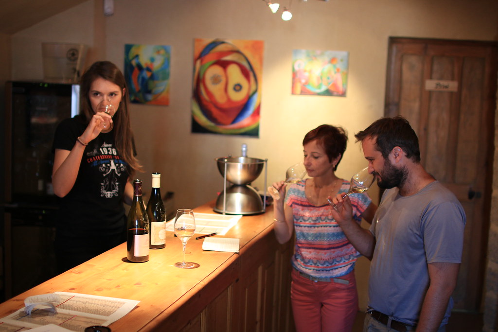 provence village chateauneuf du pape vinadea wine tasting 1