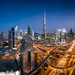 Dubai Just After Sunset by hpd-fotografy