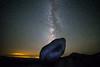 Milkyway rising in Lassen Volcanic National Park