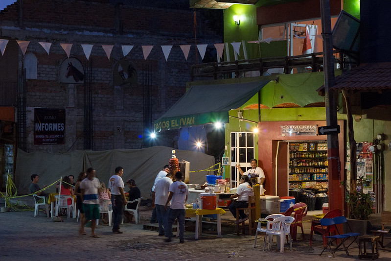 taco stand, Sayulita, Mexico