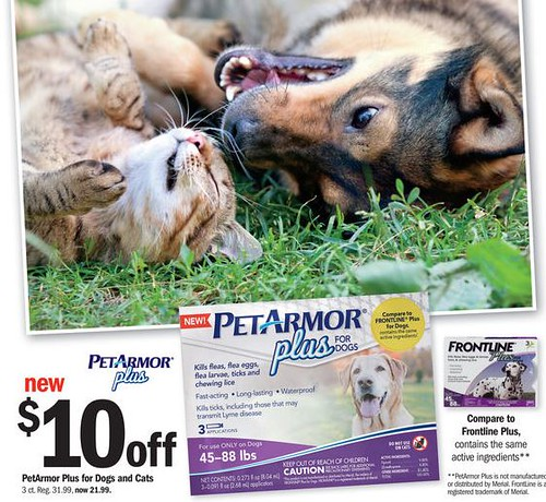 photo regarding Frontline Coupons Printable referred to as PetArmor Furthermore $16.99 at Meijer with Sale and Coupon (reg $32