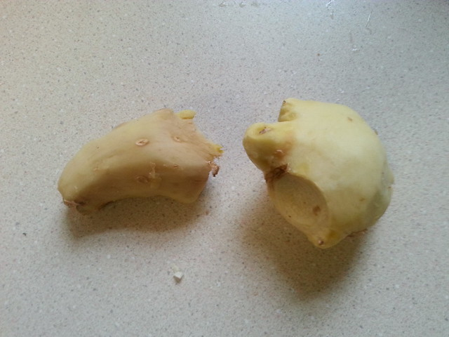 Peeled Ginger For Tea