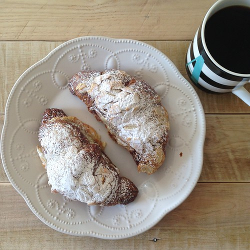 laughlins bakery almond croissants