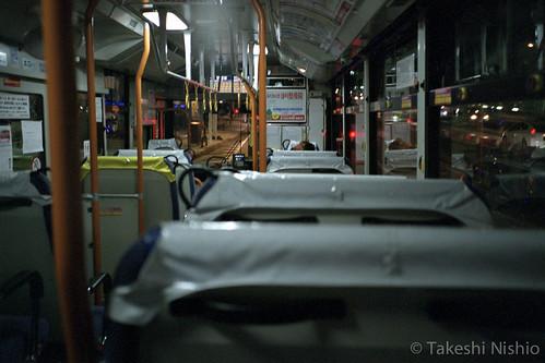 自分を含めて乗客は二人 / two passengers, incl. me