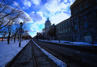 Marché Bonsecours in Montreal, Canada