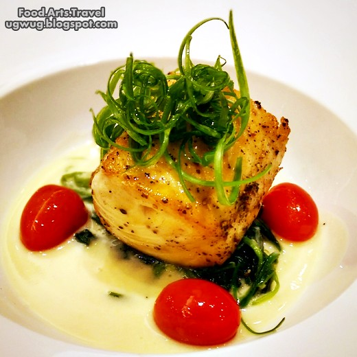 Pan Seared Butterfish