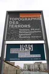 Topographie des Terrors in Berlin