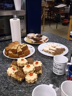 Cakes on the teabar