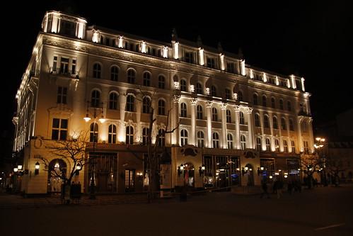 Jugendstil at night