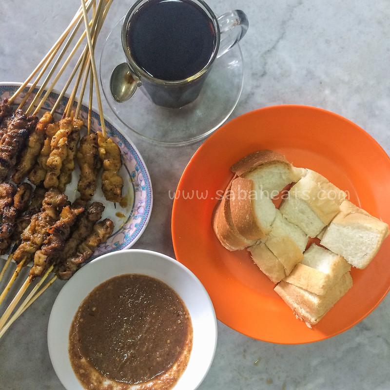 Satay Jawi @ Kedai Kopi Yui Cheong