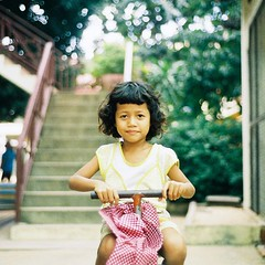A girl at PSE school. Even though she had mental disability, this school has special class for those who need assistant. #pse #cambodia #phnompenh #children #humanitarian #girl #charity #travel #travelgram #istillshootfilm #nikon #nikonem #35mm #film #bac