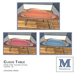Magnolia - Cloud Table for !nterlude!