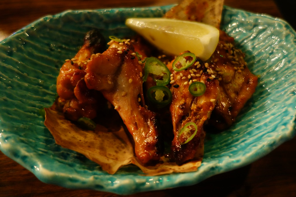 Kurobuta Miso-glazed hot wings