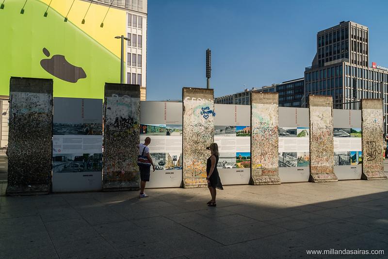 Capitalismo vs Comunismo en plena Potsdamer Platz