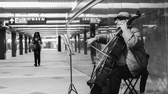 Cellist @ 59th St., NYC