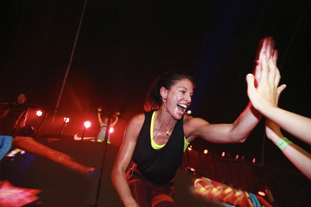 2天活動共有3400名女性在Nike菁英教練帶領下相互激勵挑戰自我