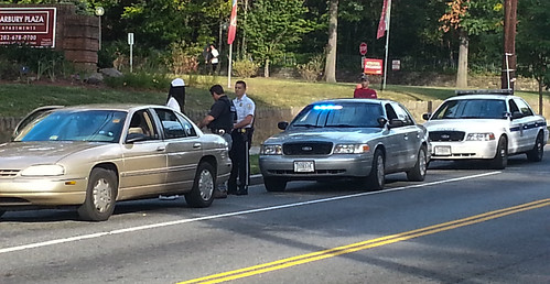 DC Metropolitan Police speeding ticket - 2014-09-14