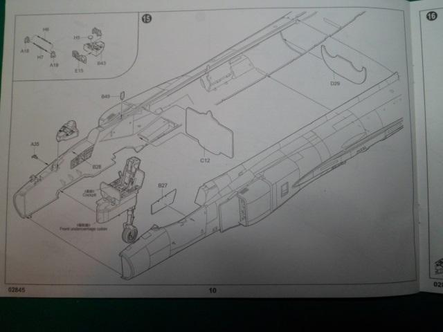 Ouvre boîte Shenyang J-8 II Finback B [Trumpeter 1/48] 16711400030_45d9a02fbb_o