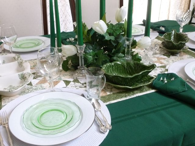 Spring Tablescape - 16