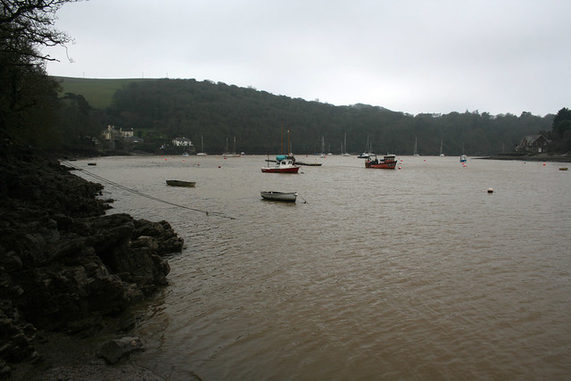 The River Yealm near Noss Mayo