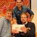 Milos Vucovic mit den Projektteilnehmern der Lebenshilfe Dortmund