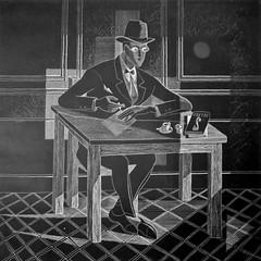 Orpheu group - Fernando Pessoa (1915) - Almada Negreiros (April 7, 1893 – June 15, 1970)