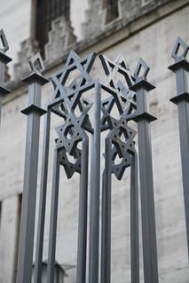 Grand Synagogue sculpture detail