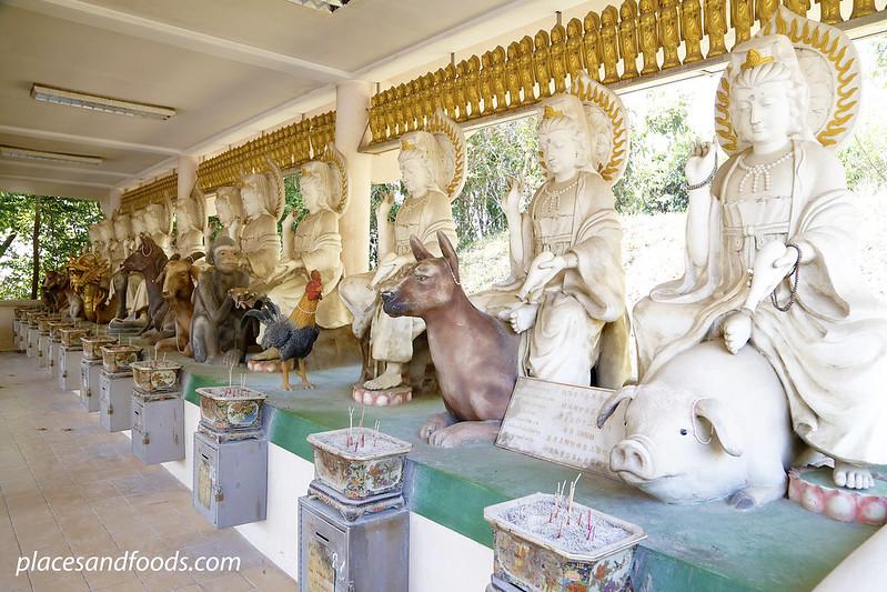 Phra Phothisat Kuan Im Nakhon 12 zodiacs