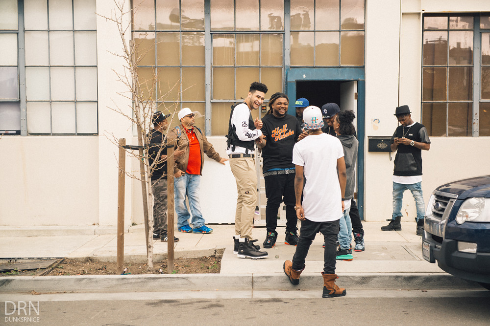 Cattin' Off Video Shoot - 03.11.15