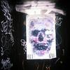 Collaboration @balu_art @el__ral #skull #wheatpaste #pasteup #graffiti #StreetArt #SoHo #Manhattan #NYC #pastel